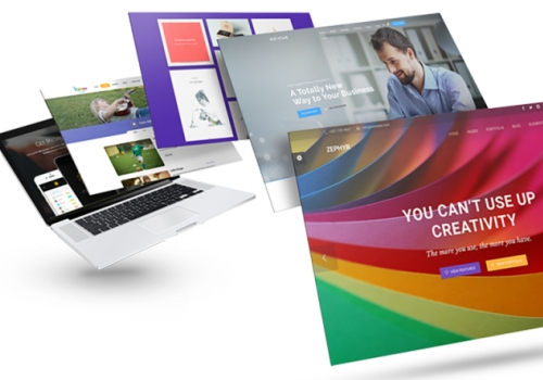 Создание сайтов визиток
